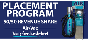 Free Air and Vacuum unit Placement Program