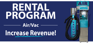 Free Air and Vacuum unit Rental Program