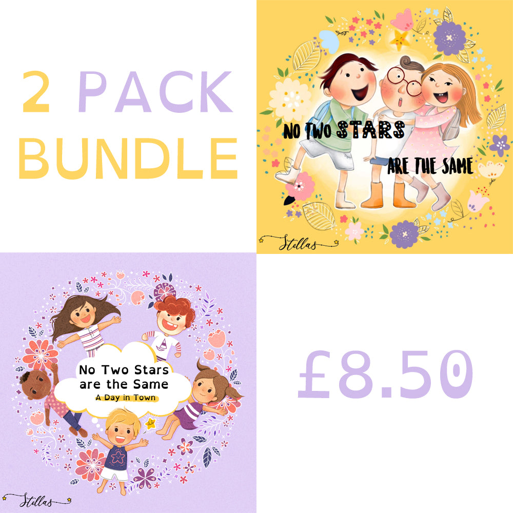 No Two Stars are the Same - 2 PACK BUNDLE