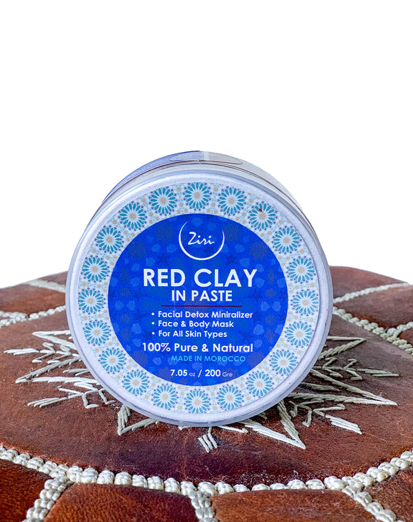 Moroccan Red Clay - Natural Moroccan Skin and Hair Care