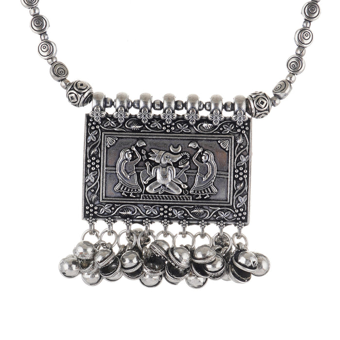Ganesh Puja Handcrafted Necklace