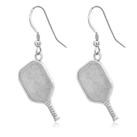 Pickleball Earrings | Paddle in Sterling Silver