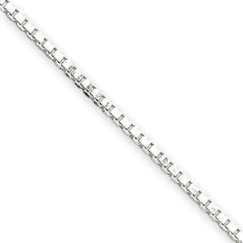 White Gold Box Chain
