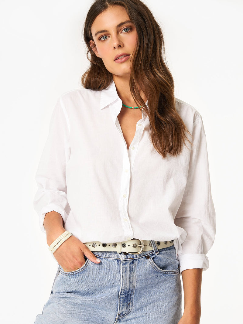 Beau cotton poplin shirt
