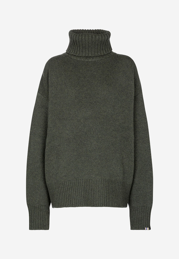 N°20 Oversize Xtra cashmere-blend turtleneck sweater
