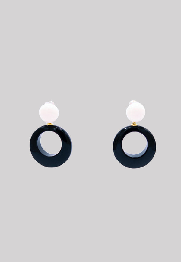 Ischia acetate earrings
