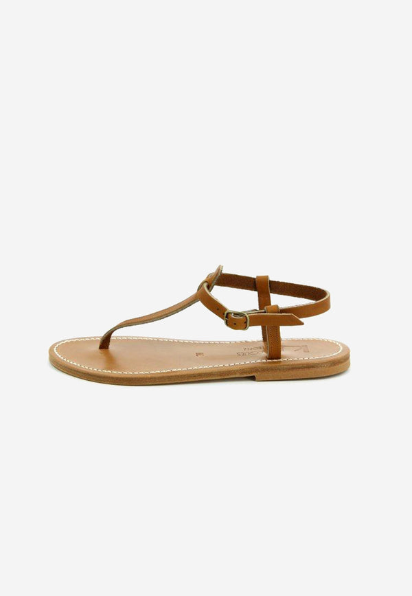 Picon leather sandals