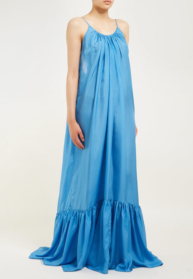 Brigitte low-back maxi dress