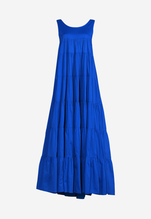 Calypso low-back maxi dress
