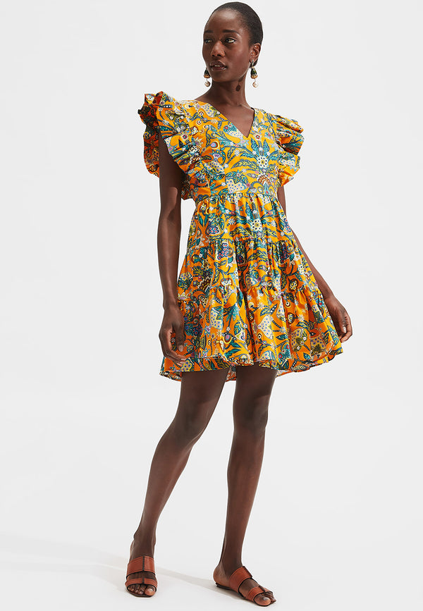 Honeybun printed short dress
