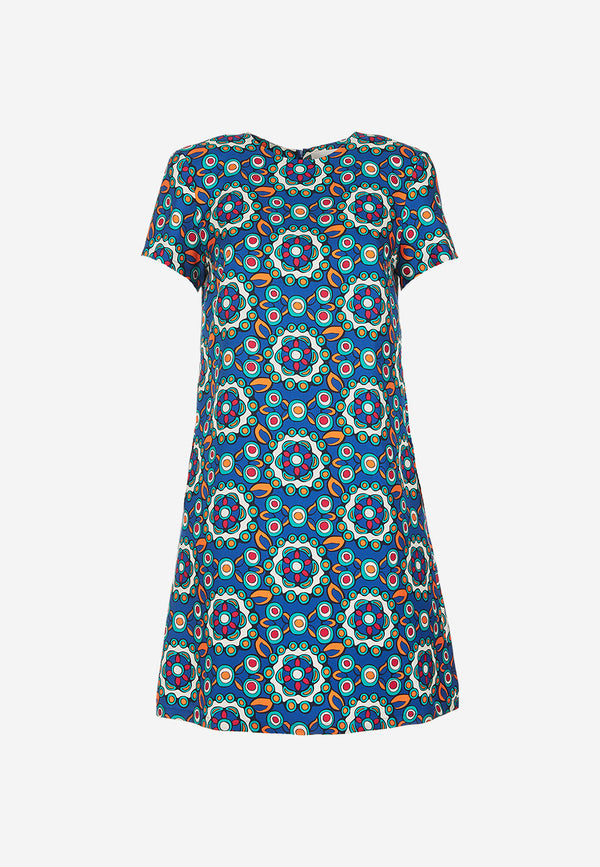 Mini Swing printed dress