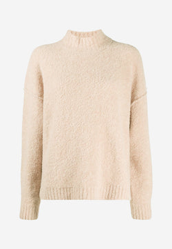 Iris rib-trimmed wool-blend sweater