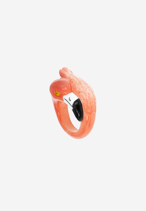 Pink Flamingo ring