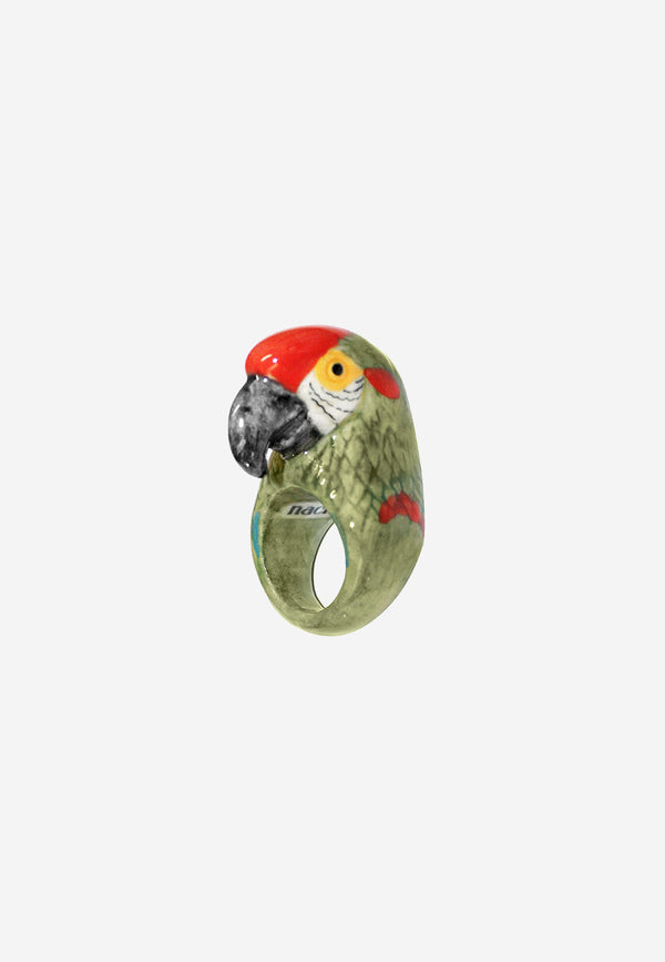 Green Macau ring
