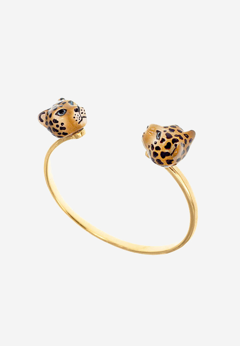 Leopard face to face cuff