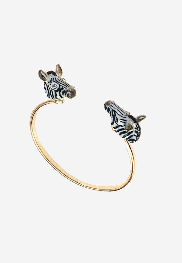 Zebra face to face cuff