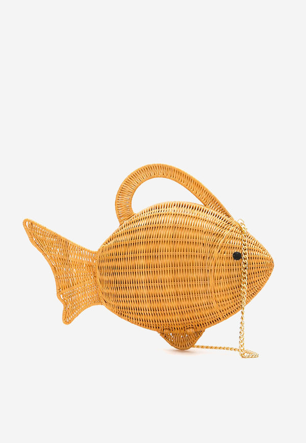 John fish wicker bag