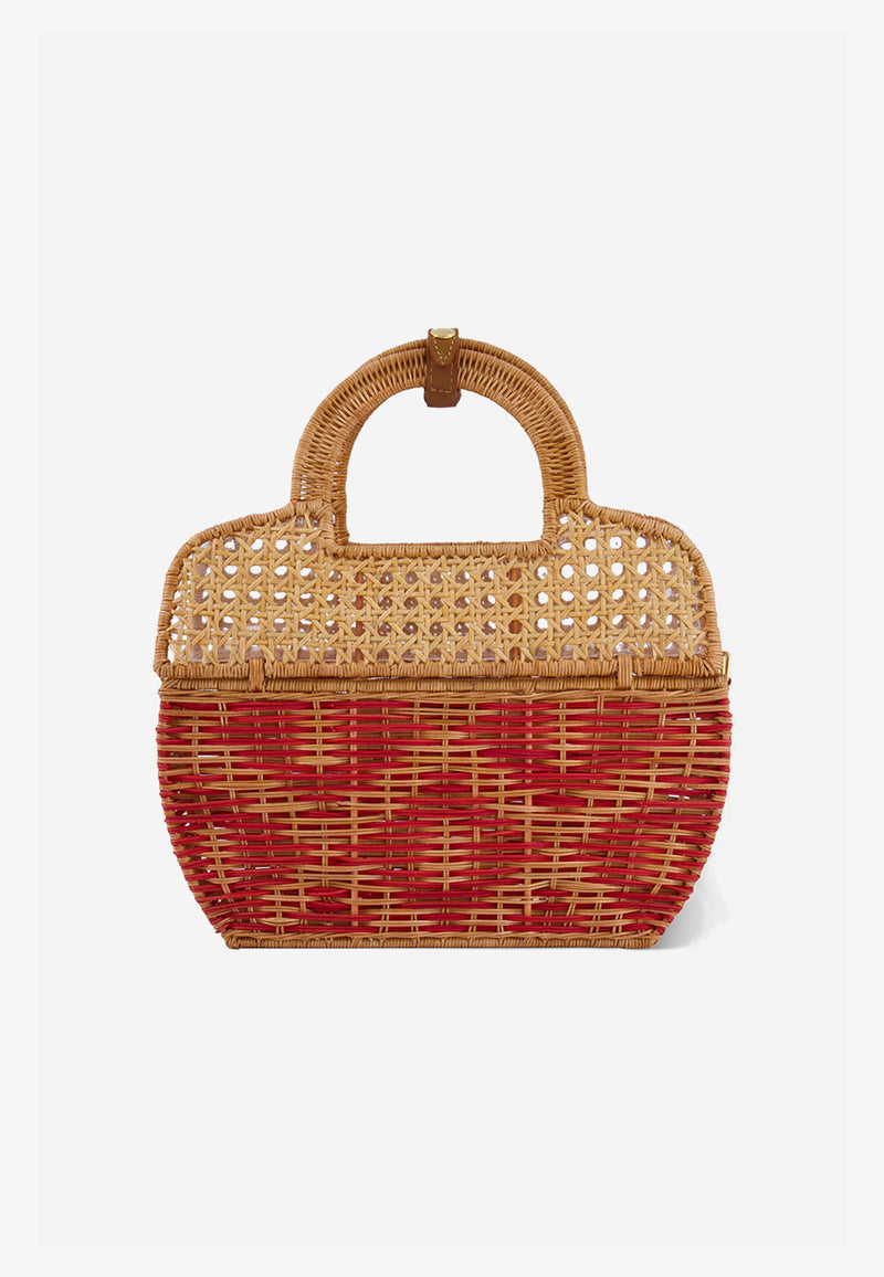 Maggy woven wicker bag