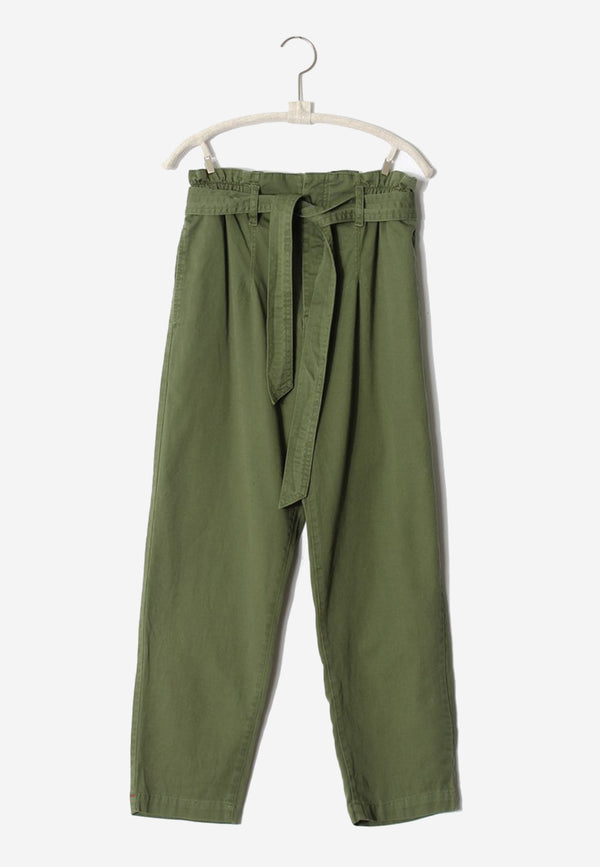 Tyese belted tapered pant