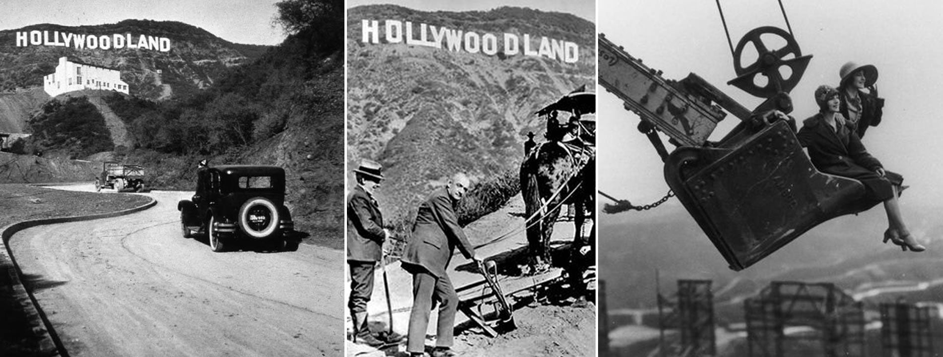 Hollywoodland Sign is Born