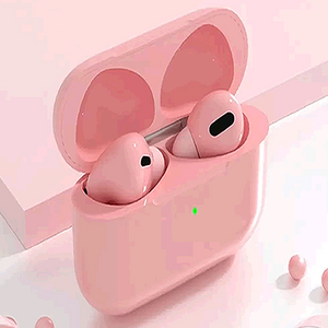 TWS WIRELESS HEADPHONES PINK - Magda Store
