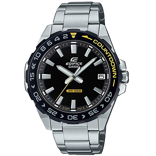 CASIO EDIFICE EFV-120DB-1AVUEF SILVER.
