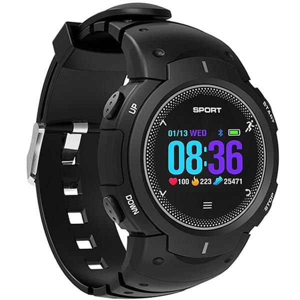 SMARTWATCH RUNNER F13 BLACK - Magda Store