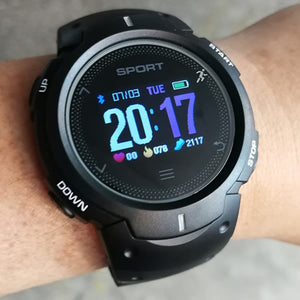 SMARTWATCH RUNNER F13 BLACK GRAY - Magda Store