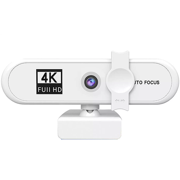 Webcam FULL HD/4K AUTOFOCUS WHITE.