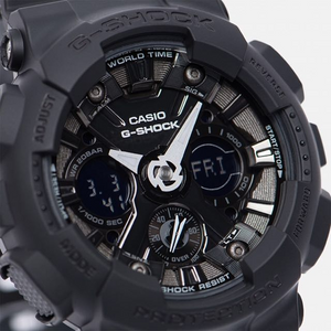 G-SHOCK GMA-S120MF-1A ALL BLACK.