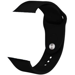SILICONE PULSE i6 Watch 4 ALL BLACK - Magda Store