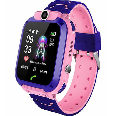 SMARTWATCH KIDS Q12 GPS PINK - Magda Store