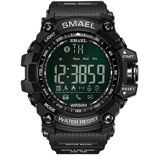 SMAEL SMARTWATCH ALL BLACK - Magda Store