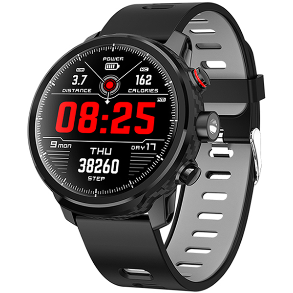 L5 PRO SMARTWATCH BLUETOOTH BLACK - Magda Store