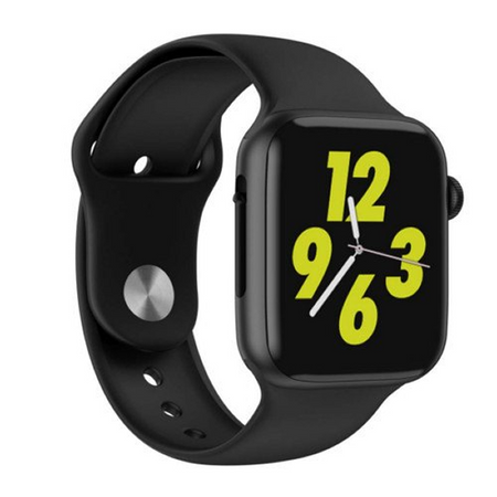 SMARTWATCH SLIMY FULL CALL BLACK - Magda Store