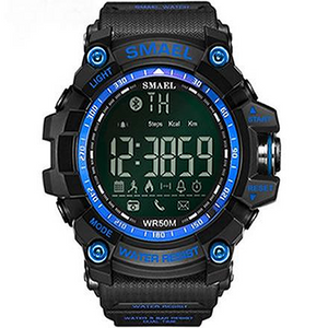 SMAEL_SMARTWATCH_BLACK_BLUE - Magda Store