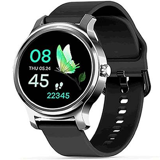 SMARTWATCH_SILICONE_R2_SILVER - Magda Store