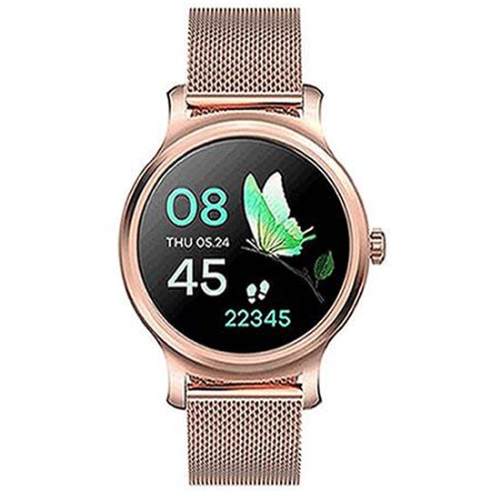 SMART_WATCH_R2_METALLIC_GOLDEN - Magda Store