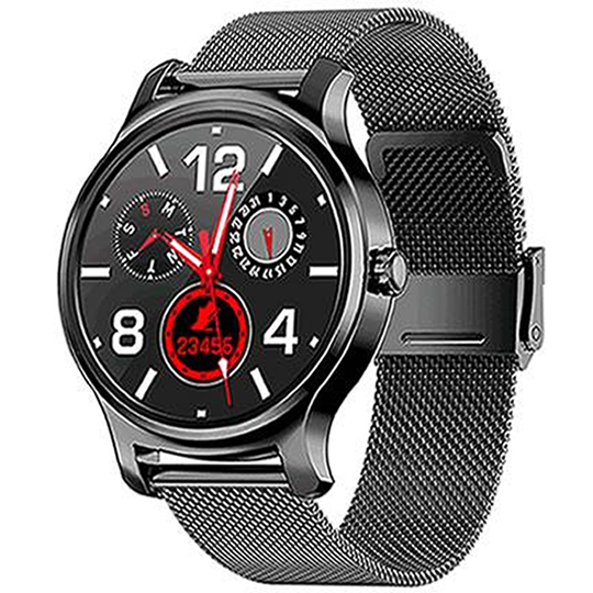 SMARTWATCH_ R2_METALLIC_ALL BLACK - Magda Store
