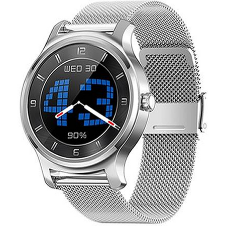 SMARTWATCH_R2_METALLIC_SILVER - Magda Store