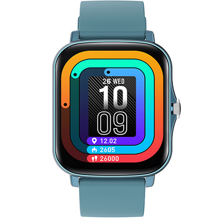 SMART WATCH COLMI P8 PLUS BLUE - Magda Store