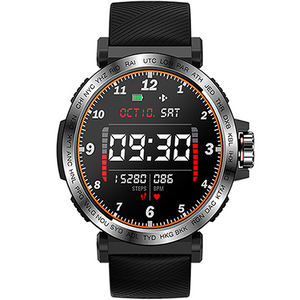 SMARTWATCH TRACKER S18 ALL BLACK - Magda Store