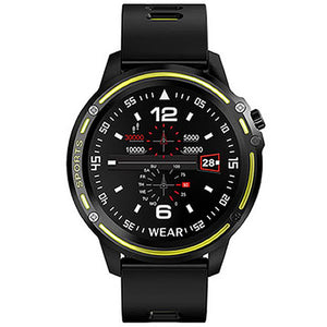 SMARTWATCH L8 SPORTS FITNESS YELLOW - Magda Store