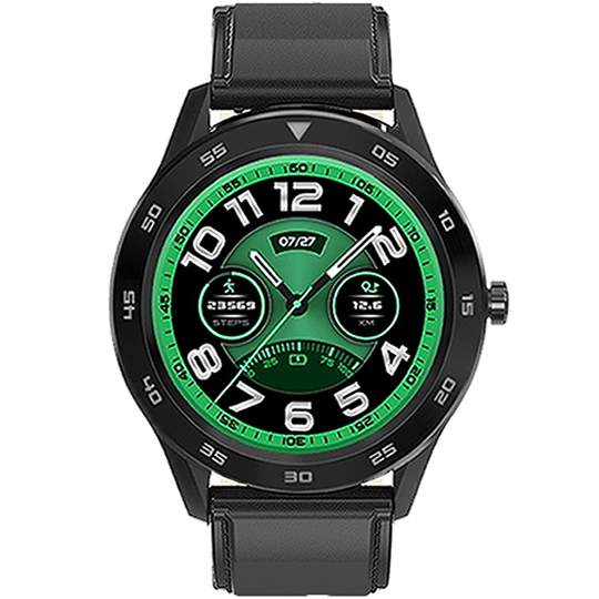 SMARTWATCH DT98 WATERPROOF CALL BLACK - Magda Store
