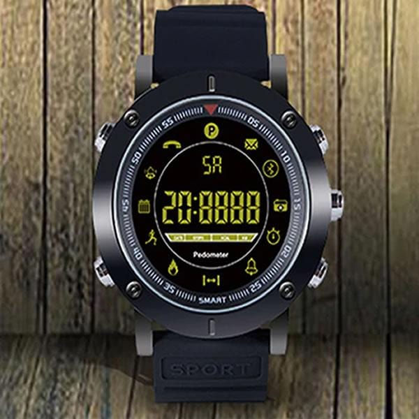 SMARTWATCH LUXURY ALL BLACK - Magda Store