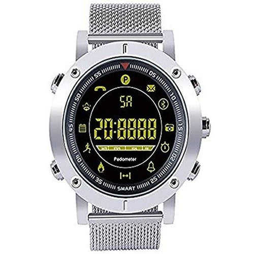 SMARTWATCH LUXURY METAL SILVER - Magda Store