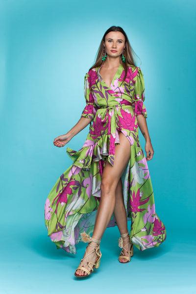 PASSION FLOWER DRESS