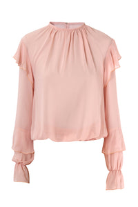 Chiffon Blouse With Ruffles