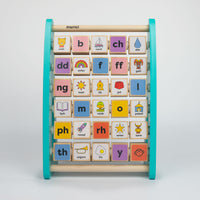 Welsh Alphabet Abacus