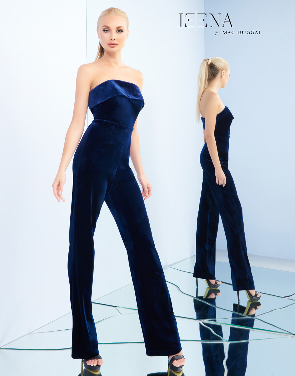 Ieena by MacDuggal- Midnight Jumpsuit- 26078
